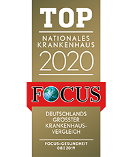 Logo Top Nationales Krankenhaus 2019 FOCUS